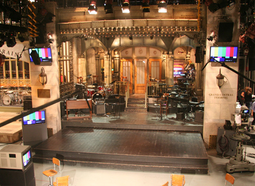 "The ""Saturday Night Live"" stage"