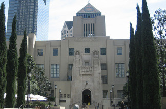 Los Angeles Central Library, in downtown Los Angeles, Calif.