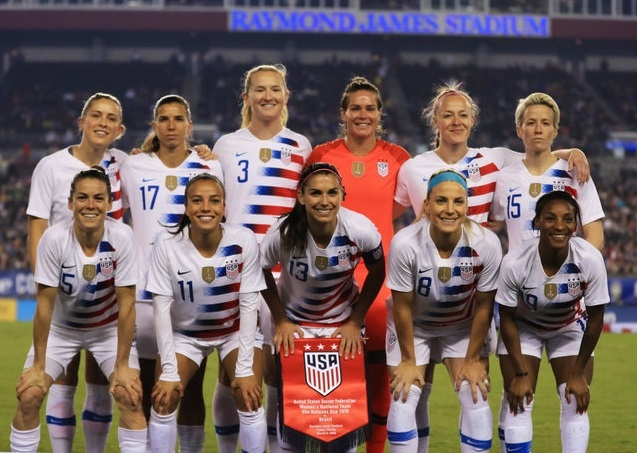 The US women's soccer team is fighting for equal pay