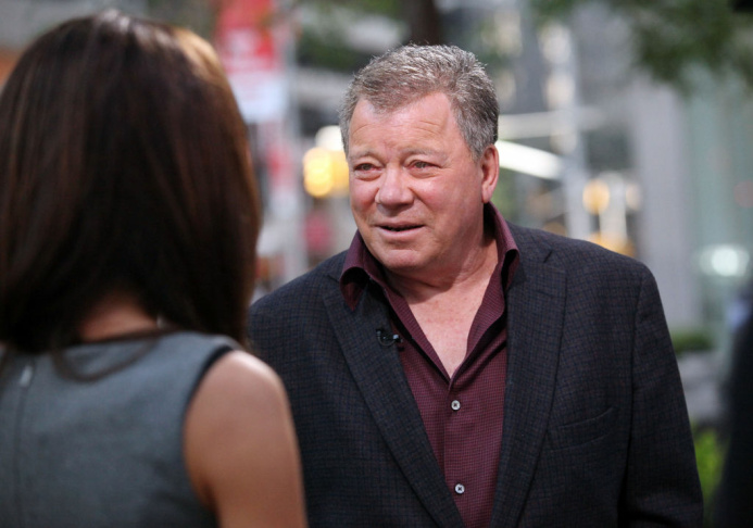 William Shatner exudes some of that signature Kirk charm while visiting the Fox Business channel.