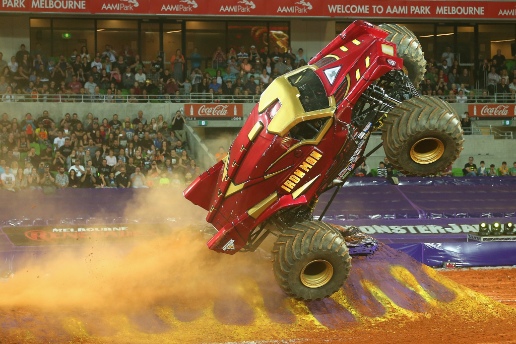 Monster Jam is coming to Anaheim this weekend.