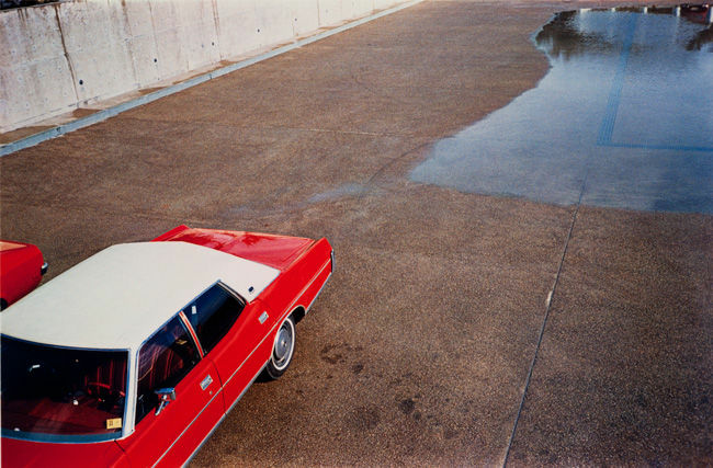 Untitled, 1970-1973; from William Eggleston, Chromes; published by Steidl in 2011.