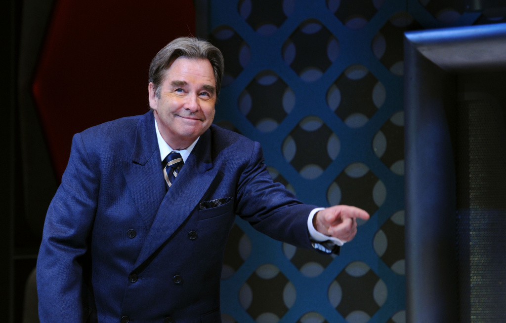 Beau Bridges attends the curtain call of
