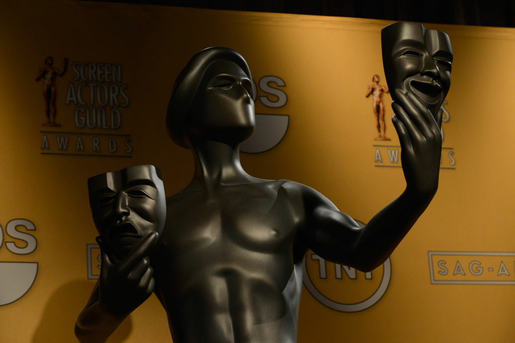 A general view of atmosphere at the 19th Annual Screen Actors Guild Award Nominations at the Pacific Design Center on December 12, 2012 in West Hollywood, California.