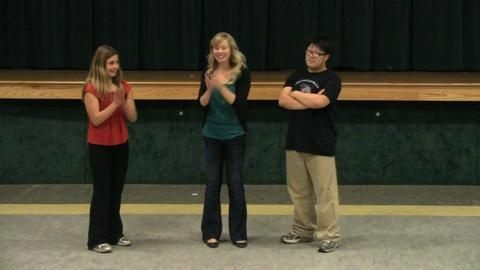 Andrea Lockhart is a volunteer with The Help Group's after-school improv program. She shares her experience with KPCC.