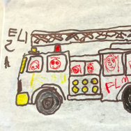 """Fire truck,"" by Take Two host Alex Cohen's daughter Eliza."