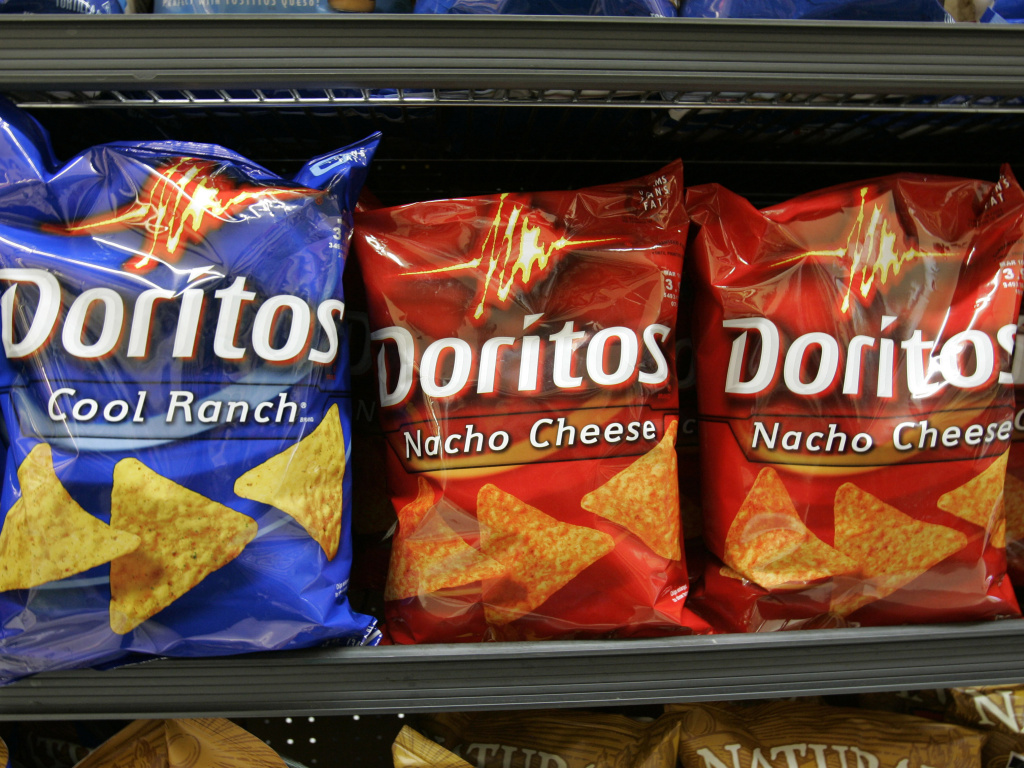 PepsiCo's CEO, Indra Nooyi, says her company is designing Doritos that are less crunchy for women.