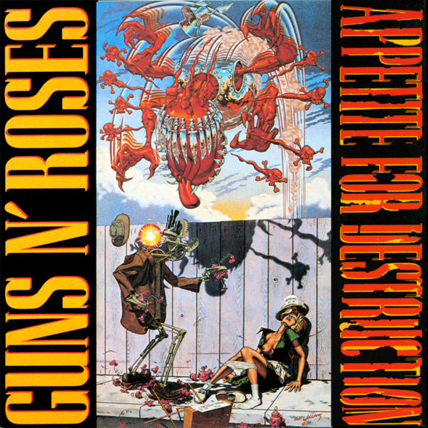 Robert Williams painting that was supposed to be used for the cover of Guns 'N Roses