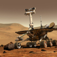 Spirit Rover on Mars