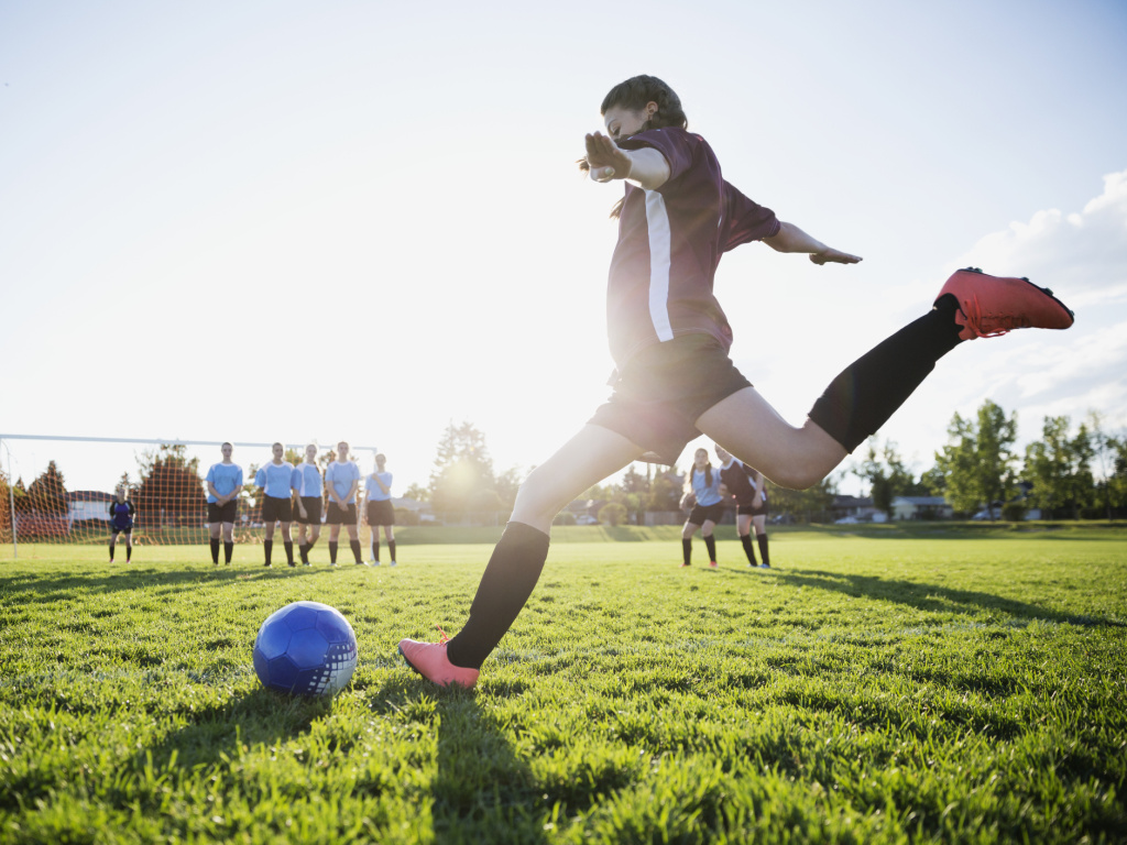 Participation in team sports as a teen may help protect against the long-term mental health effects of childhood trauma.