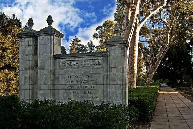 File photo: Forbes.com ranked Pomona College 8th in the nation. Last year it ranked 2nd.
