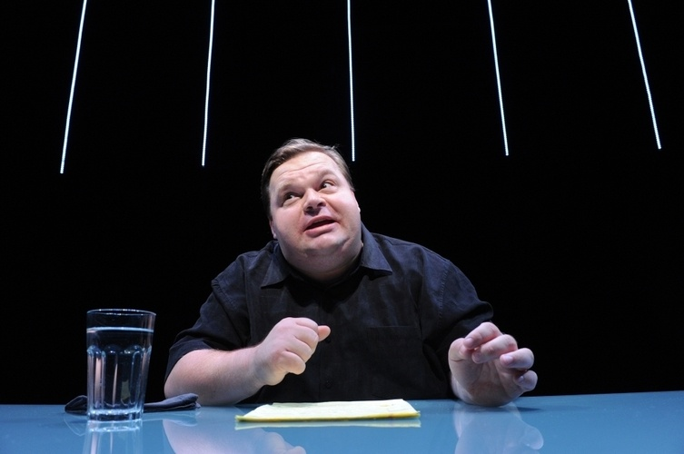 Mike Daisey in a scene from