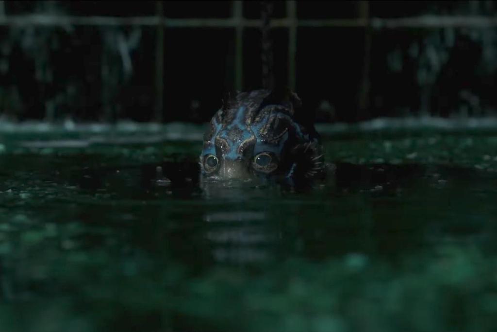 Doug Jones as The Asset in Guillermo del Toro's