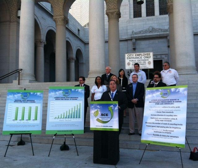 LA Budget, Sanitation Officials Split Over Trash Pickup
