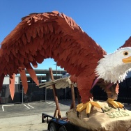 Eagle Float Westchester Parade