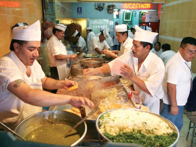 Originating in Mexico City,