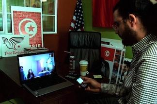 Free Tunisia founder Bechir Blagui