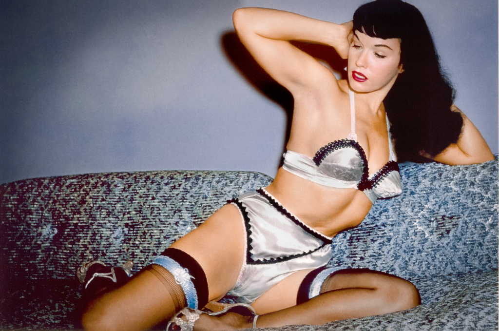 Bettie Page in Mark Mori's