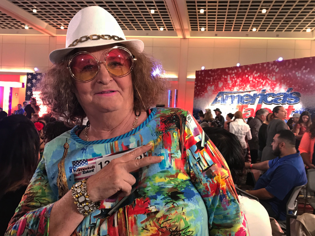 Brenda Calhoun, or G-Ma, the rapping grandma, is here for the fame.