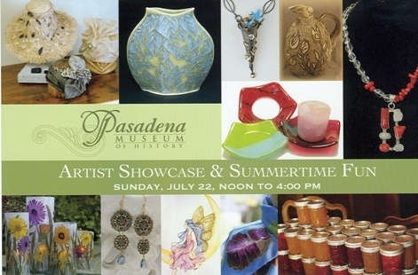 "Pasadena Museum of History hosts an ""Artist Showcase & Summertime Fun"" event"
