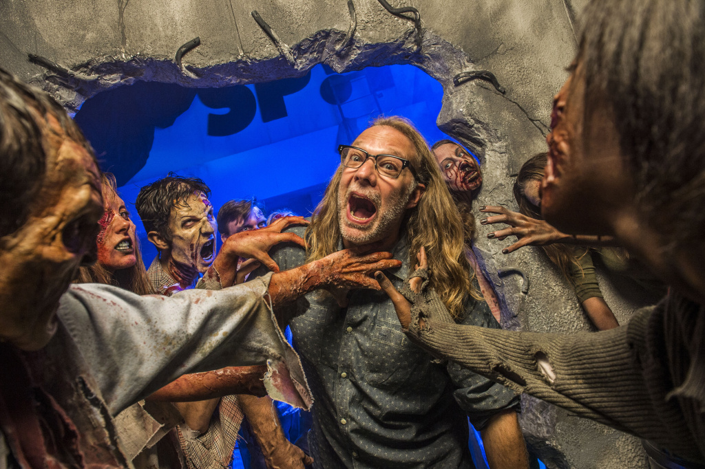 Greg Nicotero, Co-Executive Producer and Director of Special Effects Make-Up Artist for AMC's