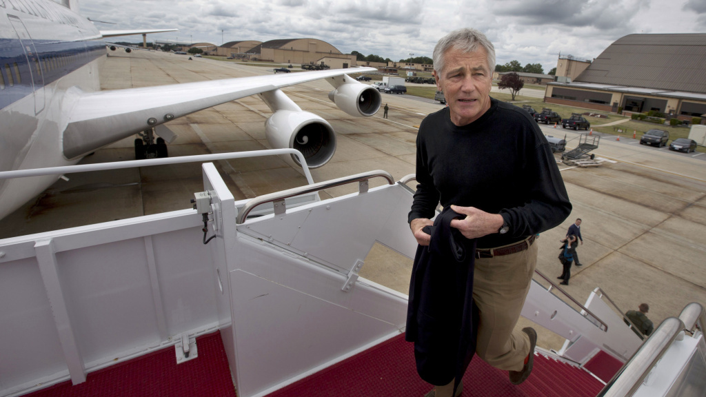 Secretary of Defense Chuck Hagel issued a statement announcing the recall of