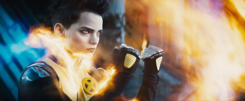 Brianna Hildebrand as Negasonic Teenage Warhead in Twentieth Century Fox's DEADPOOL 2.