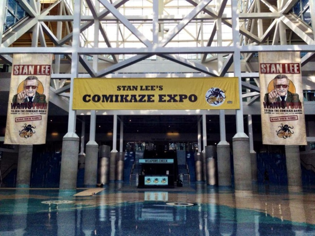 Image from the Comikaze Expo in downtown Los Angeles.