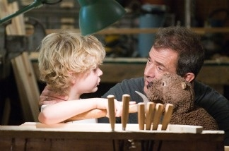 Mel Gibson stars in 'The Beaver,' in theaters this month.