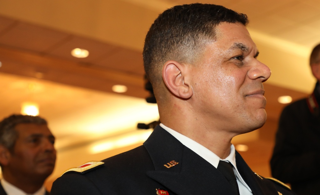 Brig. Gen. Mark Quander will assume a new leadership post at West Point this spring or summer. One challenge will be to confront extremism in the ranks of the military.