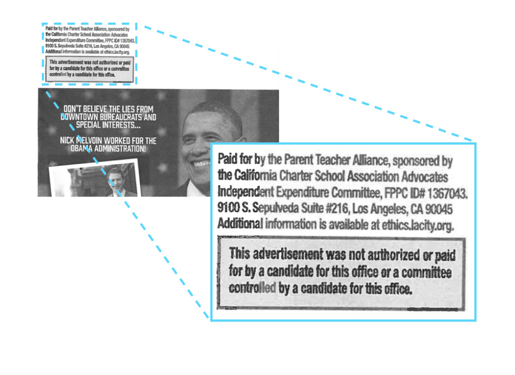 The Parent Teacher Alliance has already spent $550,000 on advertising, phone banking and door-knocking in hopes of influencing the L.A. Unified race. Leaders of the California Parent Teacher Association want them to find another name.