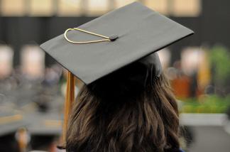 Student awaiting graduation.