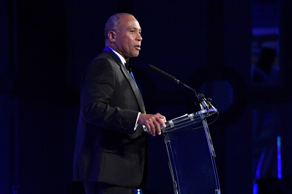 Deval Patrick speaks on stage at The Jefferson Awards Foundation 2017 DC National Ceremony at Capital Hilton on June 22, 2017 in Washington, DC.