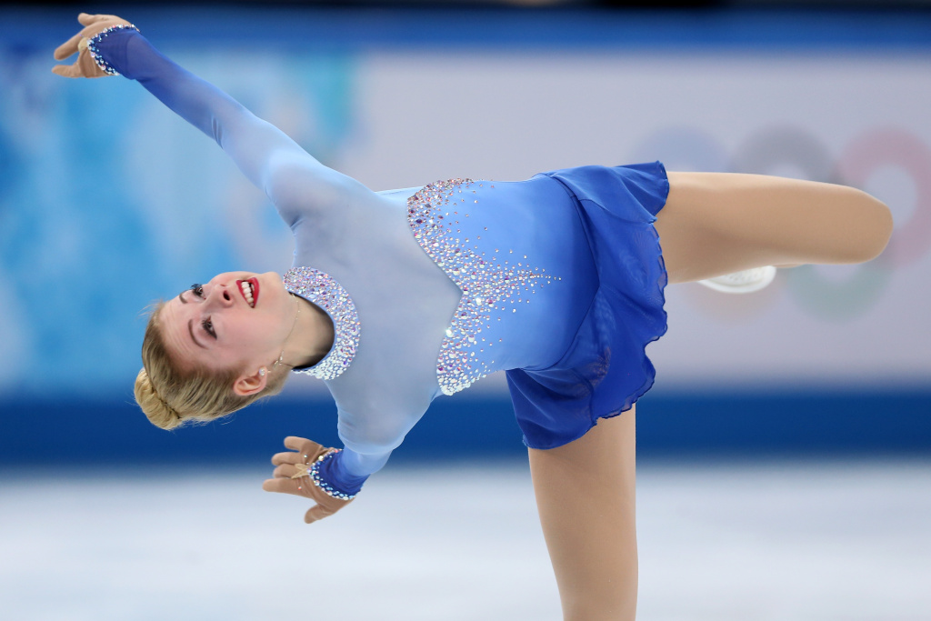 Gracie Gold of the United States competes in the Figure Skating Ladies' Free Skating on day 13 of the Sochi 2014 Winter Olympics at Iceberg Skating Palace on February 20, 2014 in Sochi, Russia.