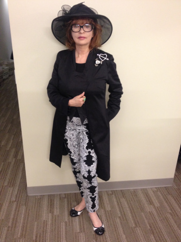 Patt Morrison's outfit for May 20.
