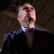 GOP Presidential Candidate Mitt Romney Campaigns In Florida