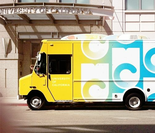 uc logo truck