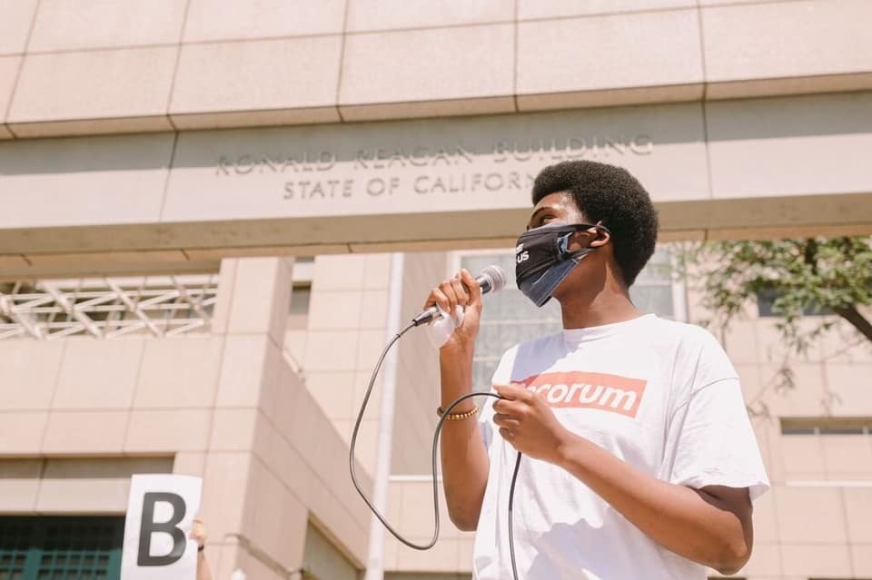 In an effort to boost civic engagement among younger voters, Tyler Okeke, 19, has been campaigning to lower the voting age to 16.