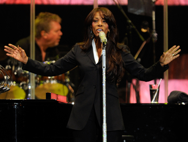 Singer Donna Summer performs during the David Foster and Friends concert at the Mandalay Bay Events Center October 1, 2011 in Las Vegas, Nevada. Her family announced her death Thursday.