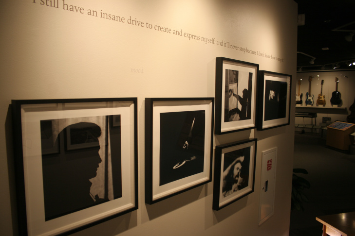 Photos from Graham Nash's exhibition of photography at the NAMM Museum of Making Music in Carlsbad.
