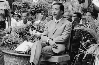 FILE: South Vietnam General Nguyen Cao Ky, former Prime Minister of Republic of Vietnam (1965-7) pictured in October 1971 in Saigon.