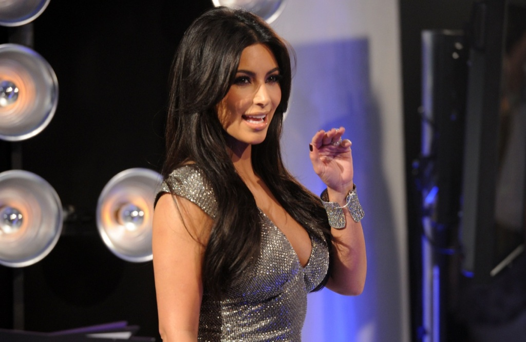 Kim Kardashian at the 2011 MTV Video Music Awards in Los Angeles.