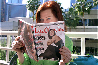 Los Angeles Magazine's Laurie Pike asks,