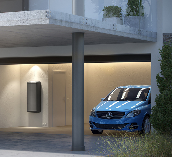 Mercedes-Benz began offering home energy storage systems earlier this year.