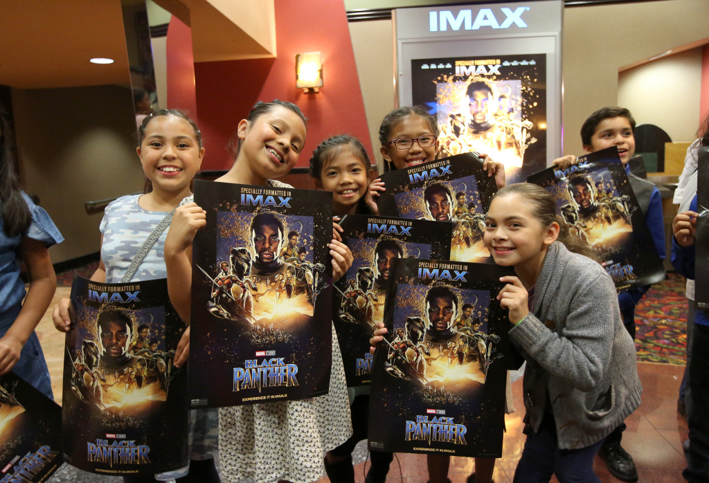 Boys & Girls Club Long Beach members received the celebrity treatment at an advance IMAX screening of