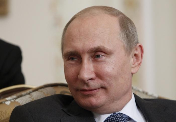Russian President Vladimir Putin, champion arm-wrestler.