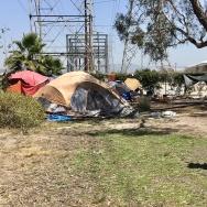 Orange County homeless camp