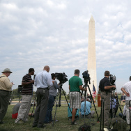 Officials Discuss Progress On Washington Monument Repairs