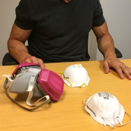 The P100, N95 and N95 with ventilation masks. These can be used to combat air pollution, but some are better than others.