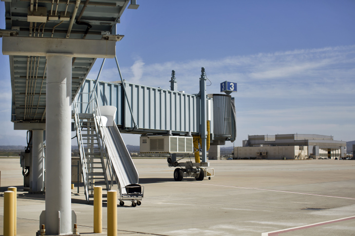 The two-terminal San Bernardino International Airport is almost complete, after a $200 million effort to convert the former Norton Air Force Base into a regional airport for commercial airliners. But so far, no airliners have shown up to use it.